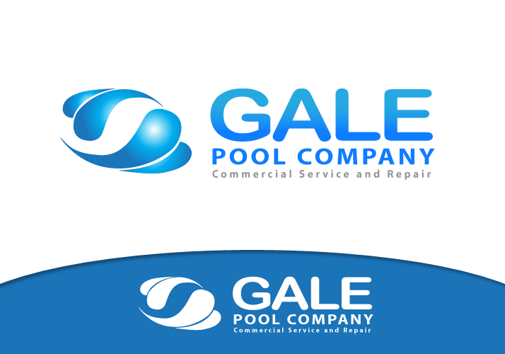 Logo Design by Jan Chua - Entry No. 102 in the Logo Design Contest Imaginative Logo Design for Gale Pool Company.
