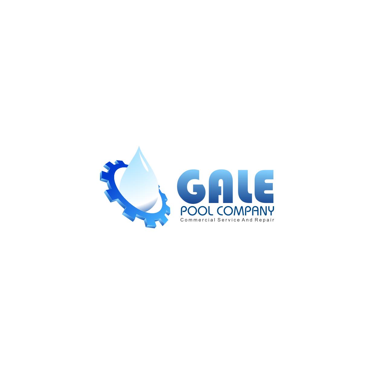 Logo Design by rifatz - Entry No. 105 in the Logo Design Contest Imaginative Logo Design for Gale Pool Company.