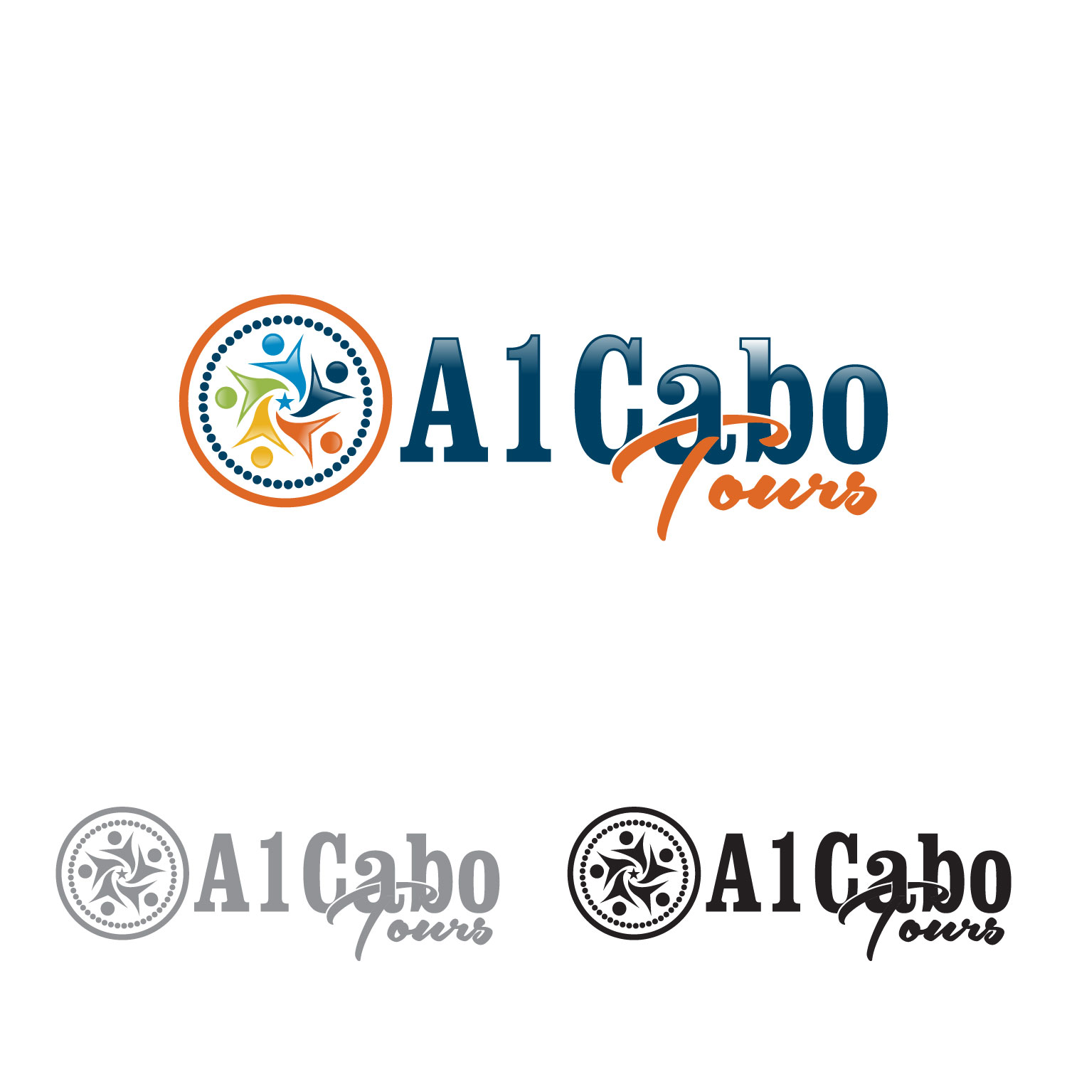 Logo Design by lagalag - Entry No. 67 in the Logo Design Contest Inspiring Logo Design for A1Cabo.com.