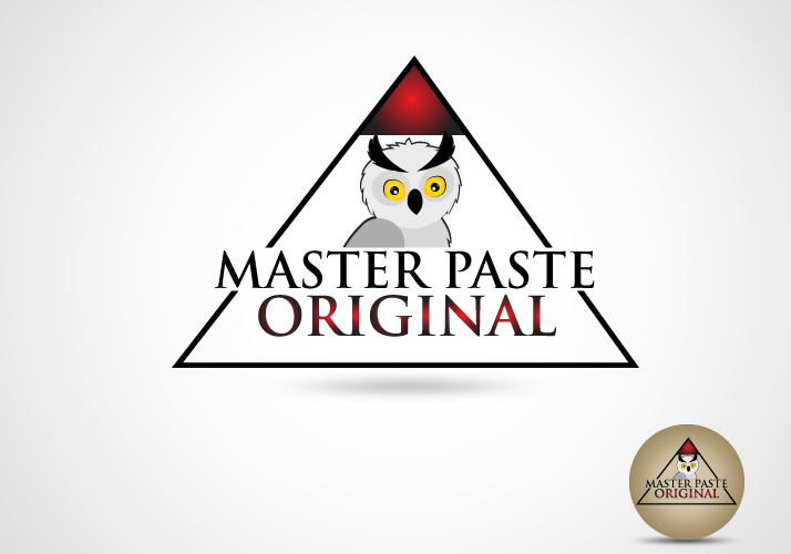 Logo Design by Jan Chua - Entry No. 28 in the Logo Design Contest Unique Logo Design Wanted for Master Paste Original™.