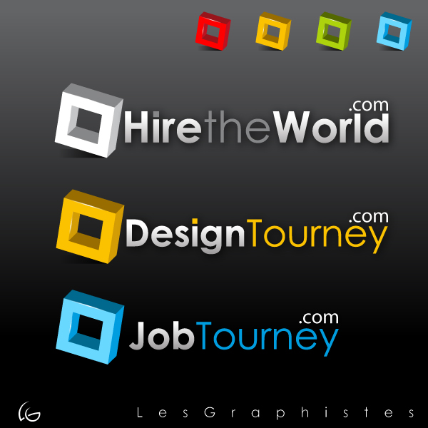 Logo Design by Les-Graphistes - Entry No. 281 in the Logo Design Contest Hiretheworld.com.