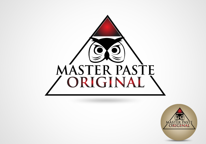 Logo Design by Jan Chua - Entry No. 39 in the Logo Design Contest Unique Logo Design Wanted for Master Paste Original™.