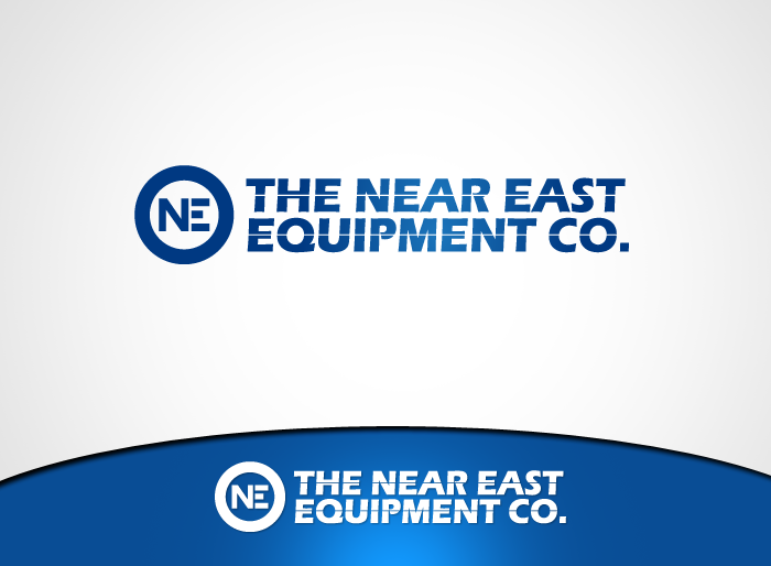 Logo Design by Jan Chua - Entry No. 19 in the Logo Design Contest Imaginative Logo Design for The Near East Equipment Co..