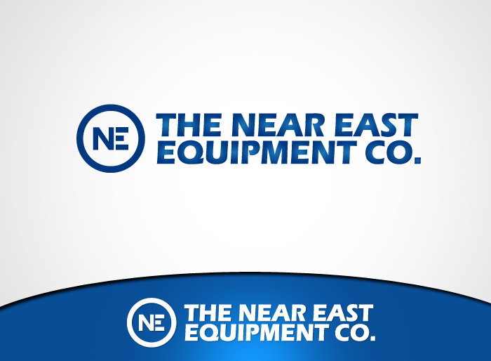 Logo Design by Jan Chua - Entry No. 22 in the Logo Design Contest Imaginative Logo Design for The Near East Equipment Co..
