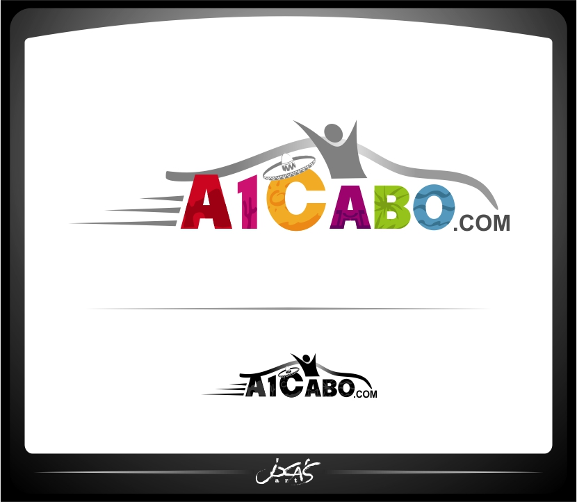 Logo Design by joca - Entry No. 74 in the Logo Design Contest Inspiring Logo Design for A1Cabo.com.