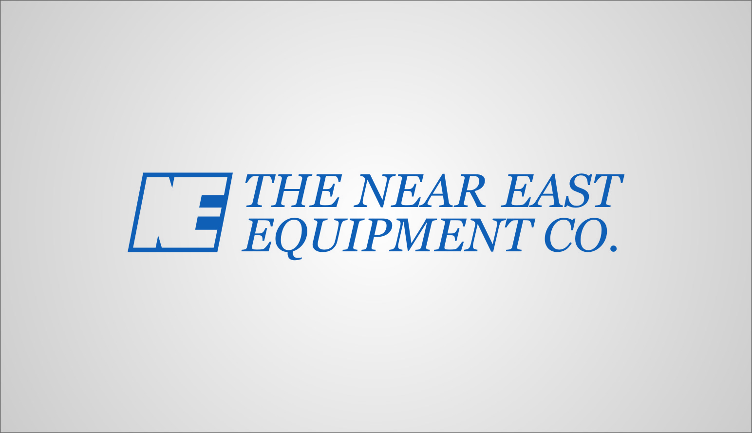 Logo Design by RasYa Muhammad Athaya - Entry No. 26 in the Logo Design Contest Imaginative Logo Design for The Near East Equipment Co..