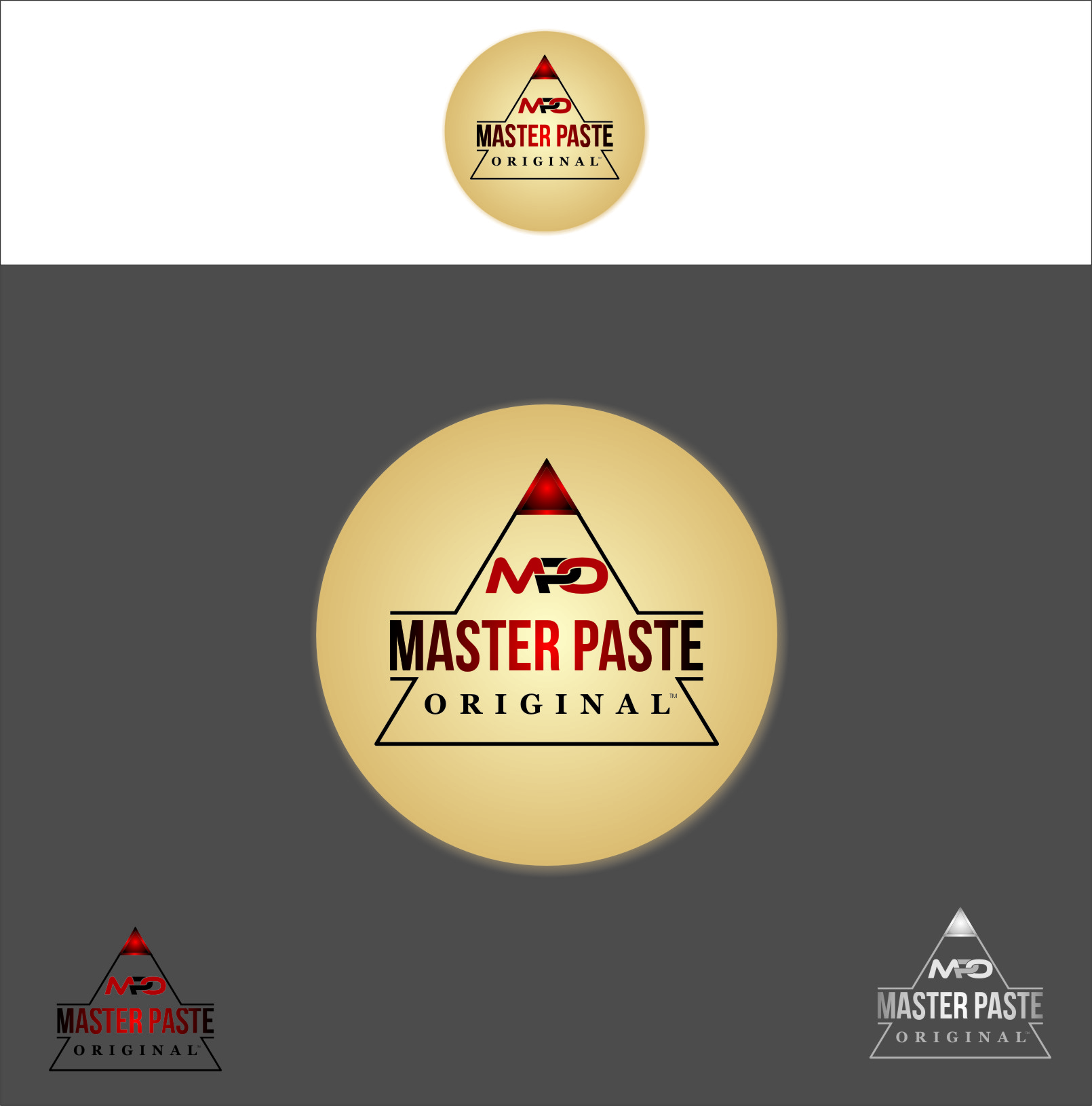 Logo Design by RasYa Muhammad Athaya - Entry No. 40 in the Logo Design Contest Unique Logo Design Wanted for Master Paste Original™.