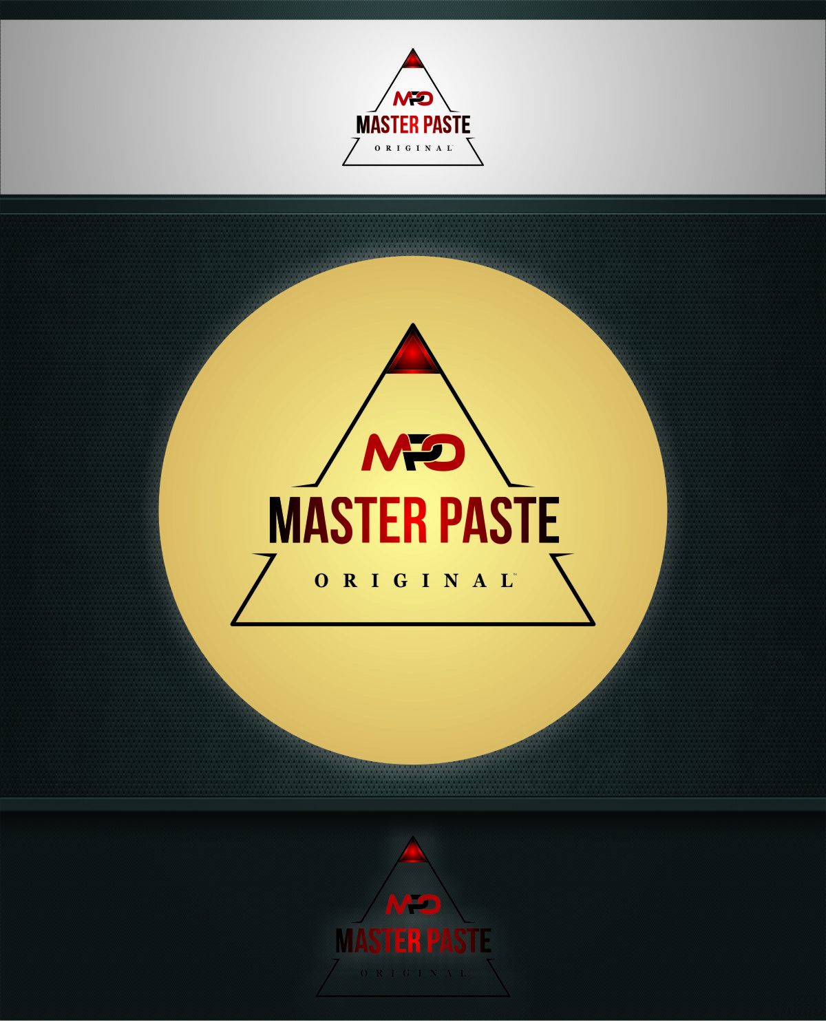 Logo Design by Ngepet_art - Entry No. 41 in the Logo Design Contest Unique Logo Design Wanted for Master Paste Original™.