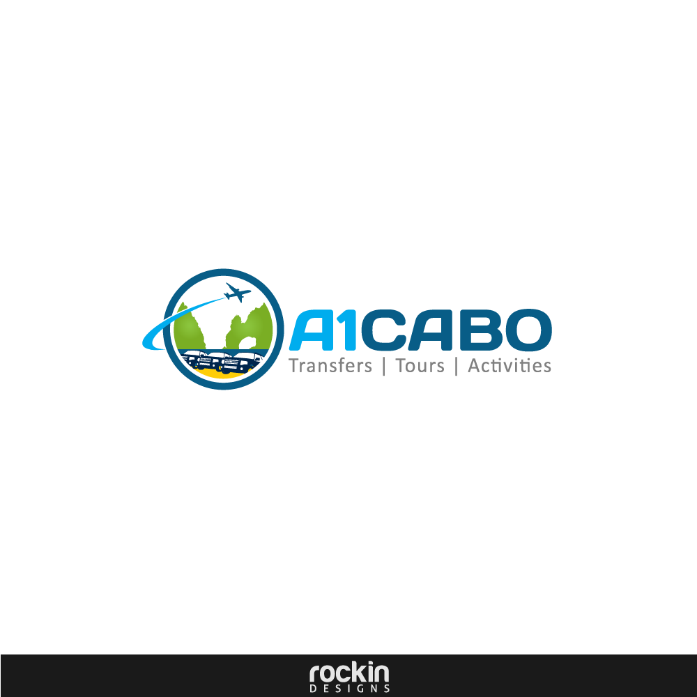 Logo Design by rockin - Entry No. 89 in the Logo Design Contest Inspiring Logo Design for A1Cabo.com.