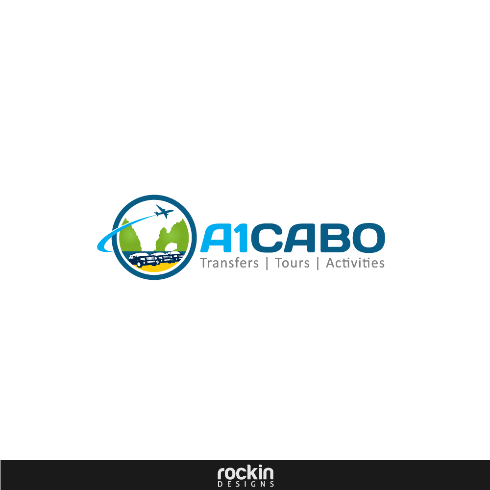 Logo Design by rockin - Entry No. 91 in the Logo Design Contest Inspiring Logo Design for A1Cabo.com.