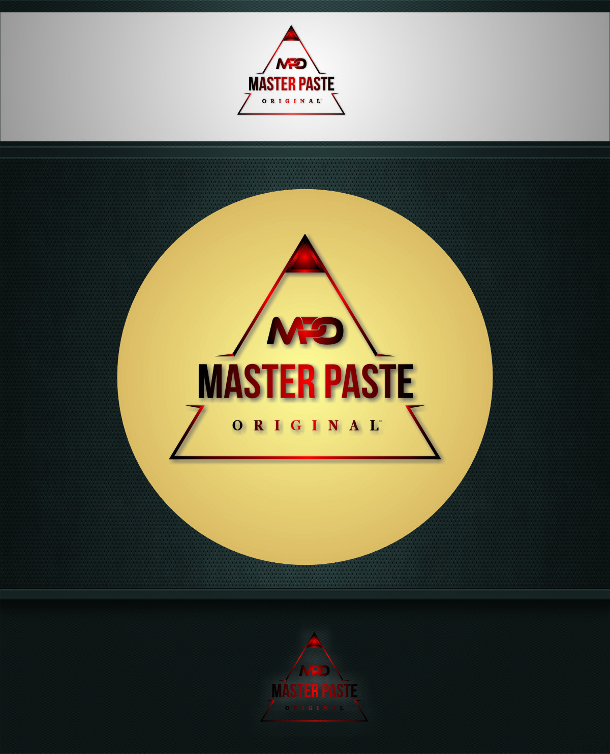 Logo Design by RasYa Muhammad Athaya - Entry No. 44 in the Logo Design Contest Unique Logo Design Wanted for Master Paste Original™.