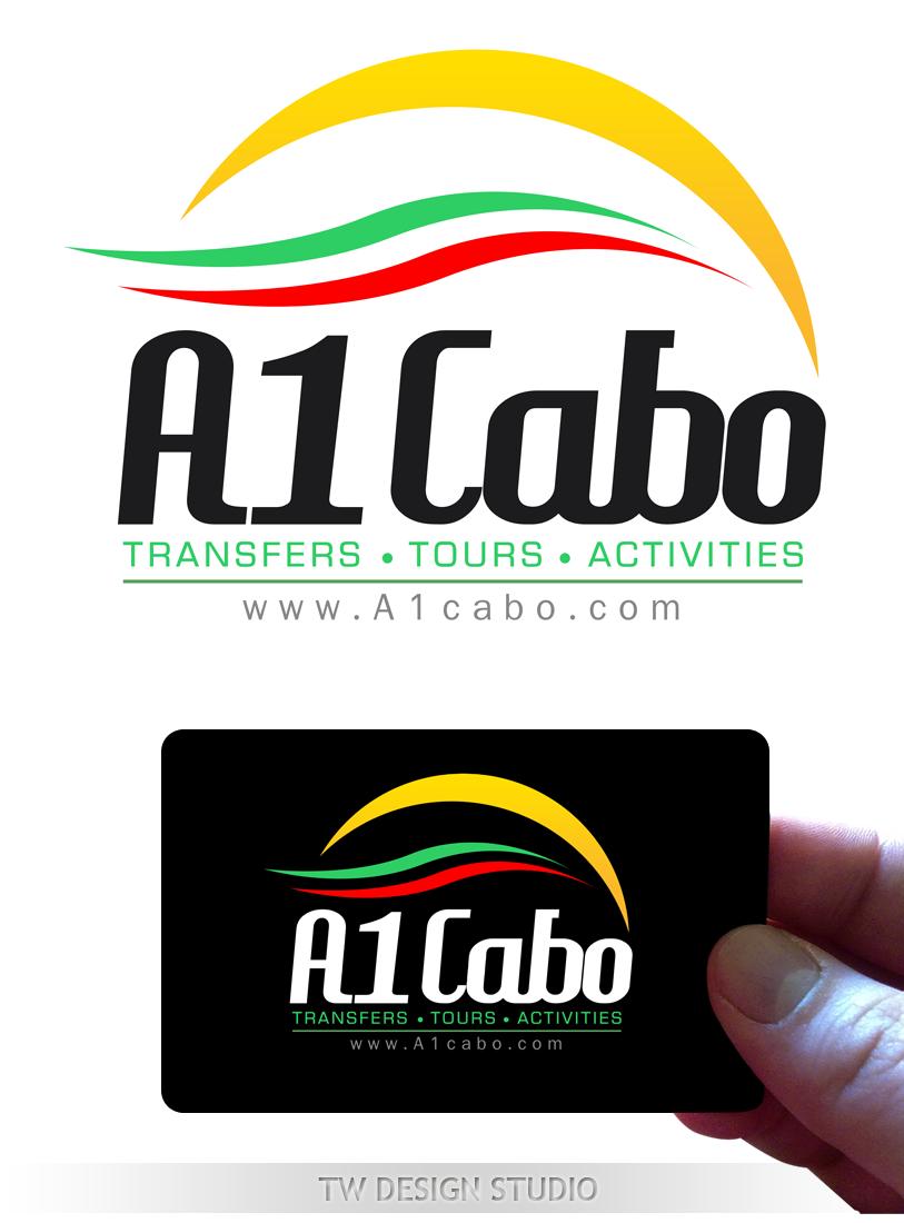 Logo Design by Private User - Entry No. 97 in the Logo Design Contest Inspiring Logo Design for A1Cabo.com.