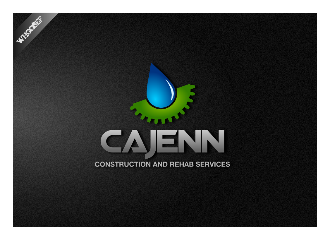 Logo Design by whoosef - Entry No. 29 in the Logo Design Contest New Logo Design for CaJenn Construction & Rehab Services.