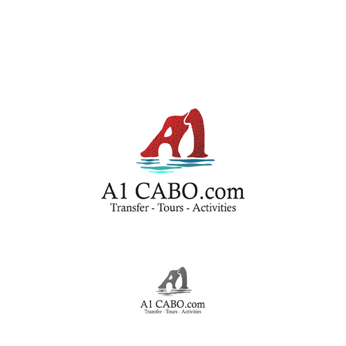Logo Design by Think - Entry No. 99 in the Logo Design Contest Inspiring Logo Design for A1Cabo.com.