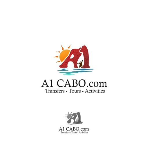 Logo Design by Think - Entry No. 100 in the Logo Design Contest Inspiring Logo Design for A1Cabo.com.