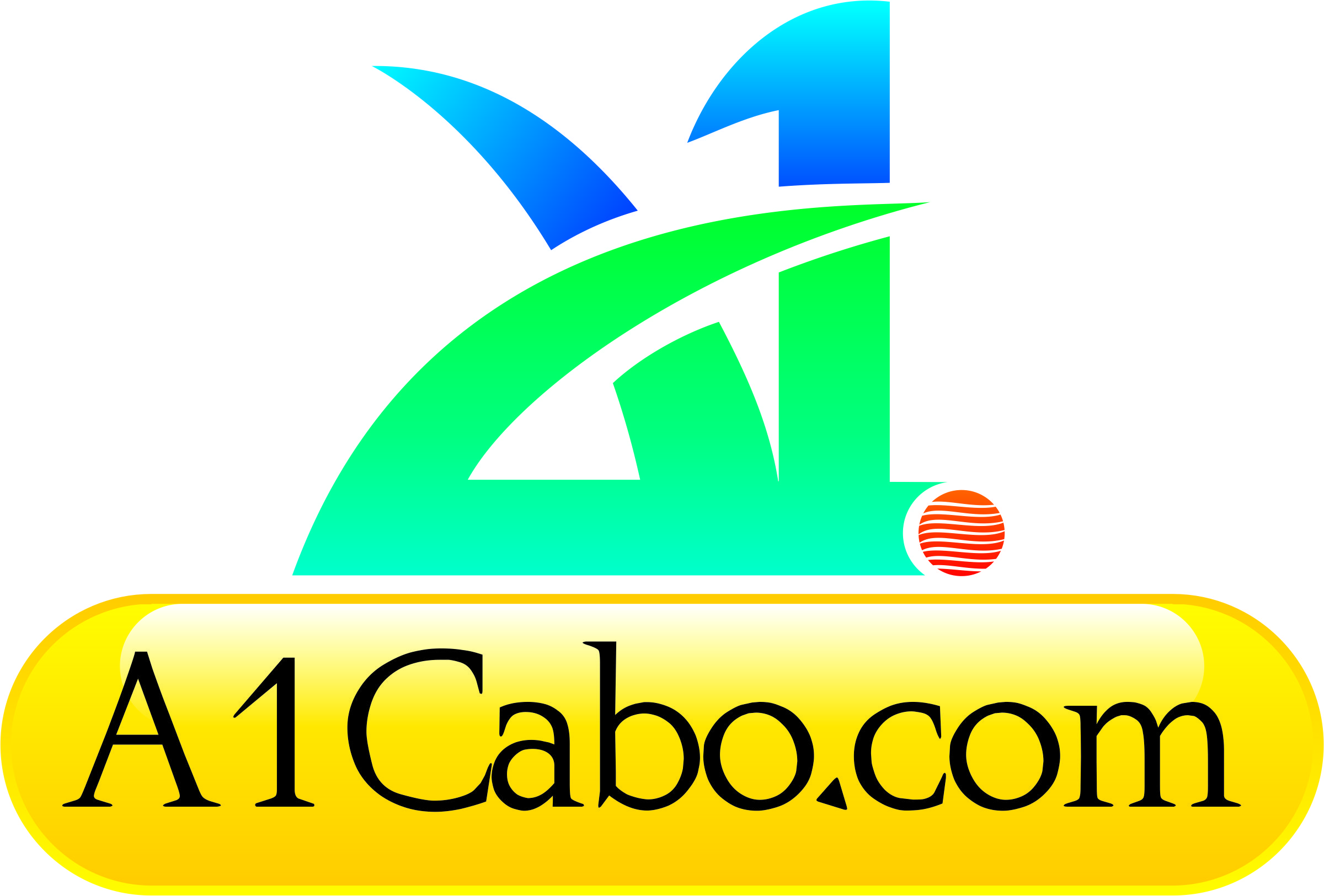Logo Design by Private User - Entry No. 102 in the Logo Design Contest Inspiring Logo Design for A1Cabo.com.