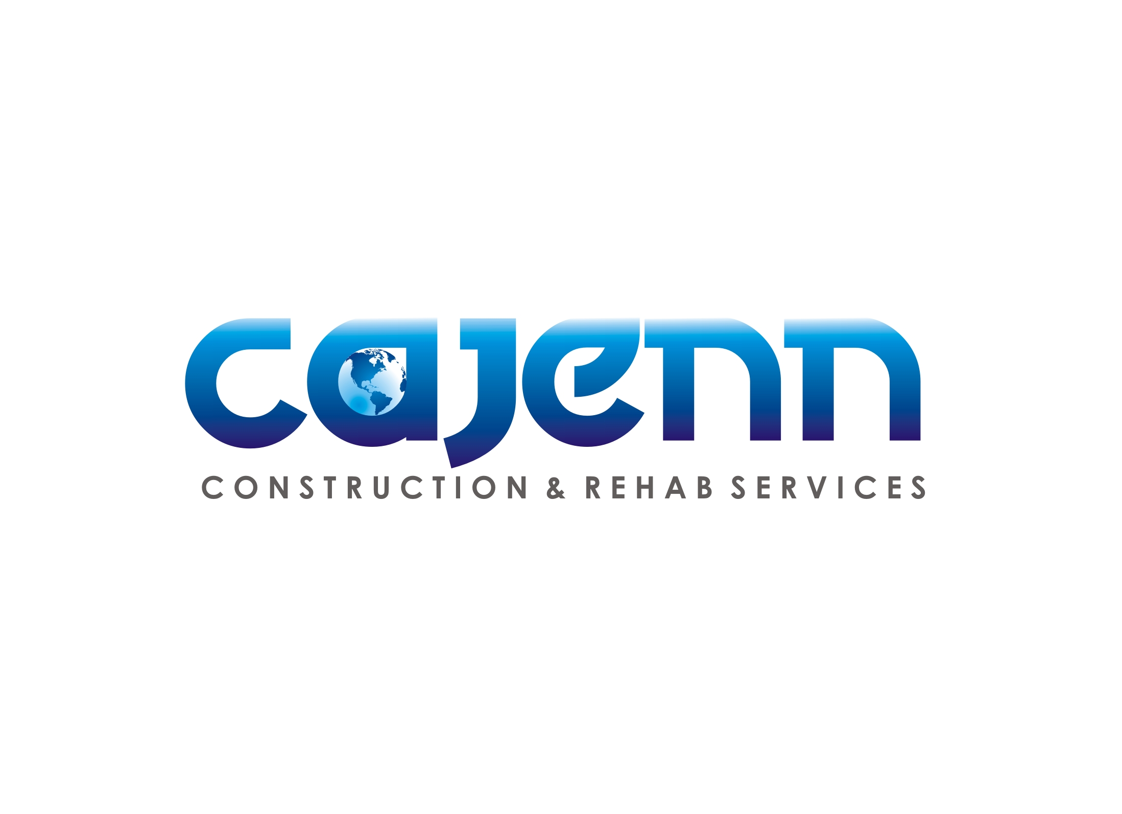Logo Design by Zdravko Krulj - Entry No. 31 in the Logo Design Contest New Logo Design for CaJenn Construction & Rehab Services.