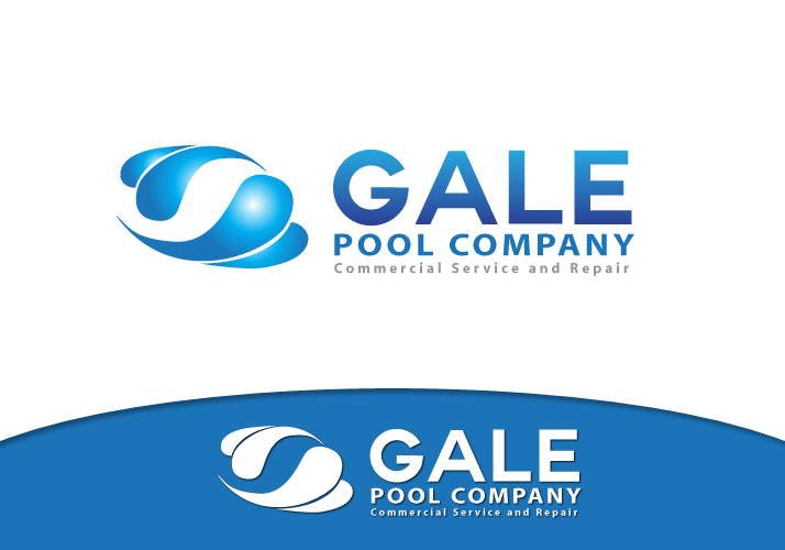 Logo Design by Jan Chua - Entry No. 123 in the Logo Design Contest Imaginative Logo Design for Gale Pool Company.