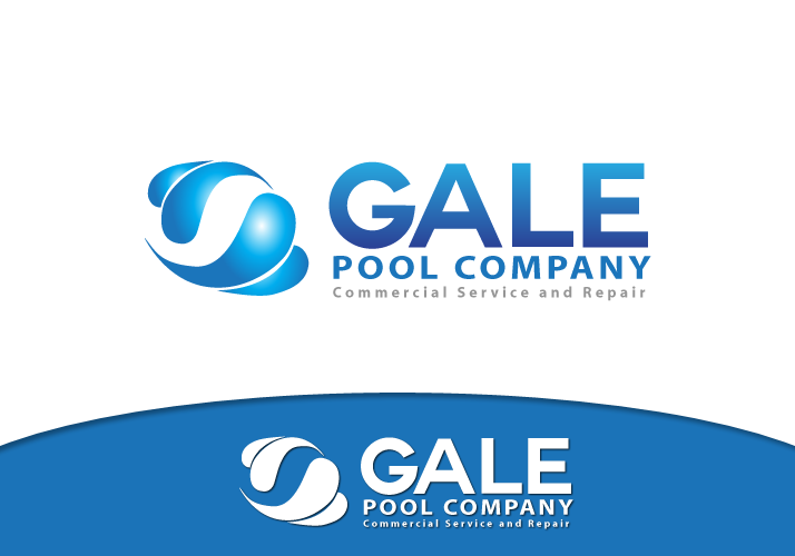 Logo Design by Jan Chua - Entry No. 125 in the Logo Design Contest Imaginative Logo Design for Gale Pool Company.