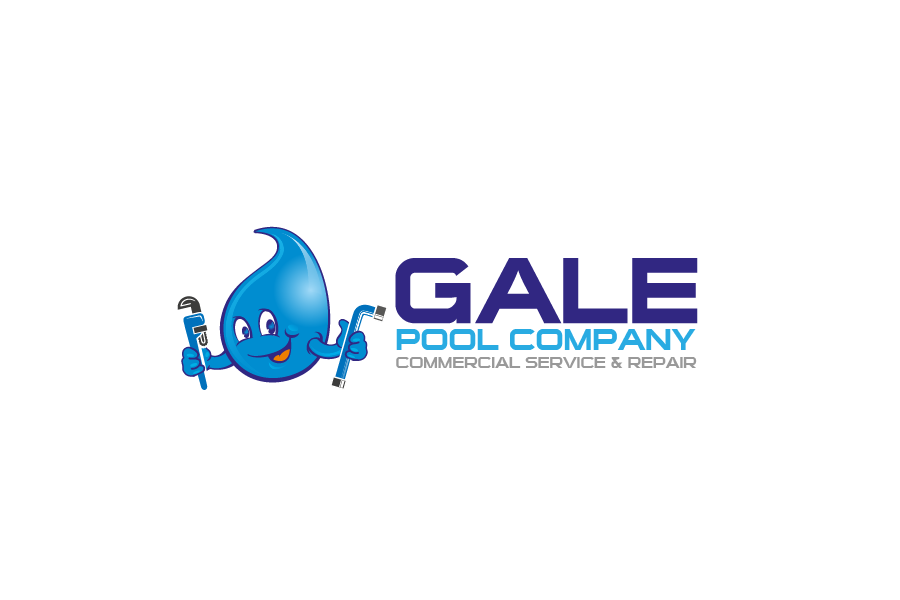 Logo Design by brands_in - Entry No. 132 in the Logo Design Contest Imaginative Logo Design for Gale Pool Company.