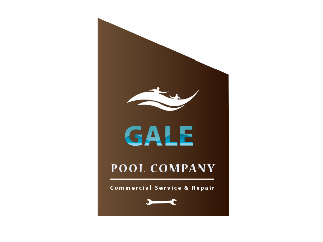 Logo Design by Kyaw Min Khaing - Entry No. 133 in the Logo Design Contest Imaginative Logo Design for Gale Pool Company.
