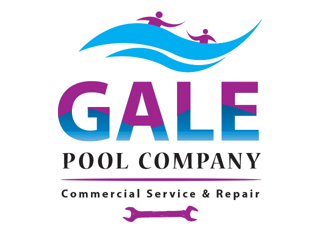 Logo Design by Kyaw Min Khaing - Entry No. 134 in the Logo Design Contest Imaginative Logo Design for Gale Pool Company.