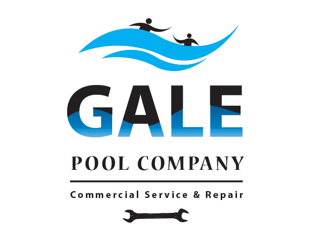 Logo Design by Kyaw Min Khaing - Entry No. 135 in the Logo Design Contest Imaginative Logo Design for Gale Pool Company.