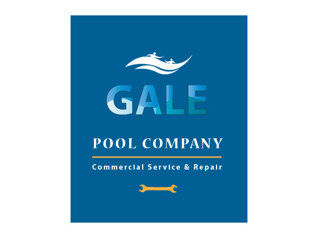 Logo Design by Kyaw Min Khaing - Entry No. 136 in the Logo Design Contest Imaginative Logo Design for Gale Pool Company.