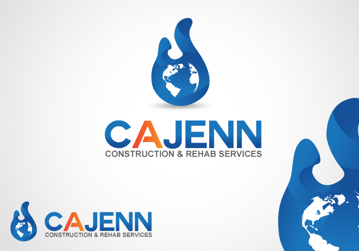 Logo Design by Jan Chua - Entry No. 37 in the Logo Design Contest New Logo Design for CaJenn Construction & Rehab Services.