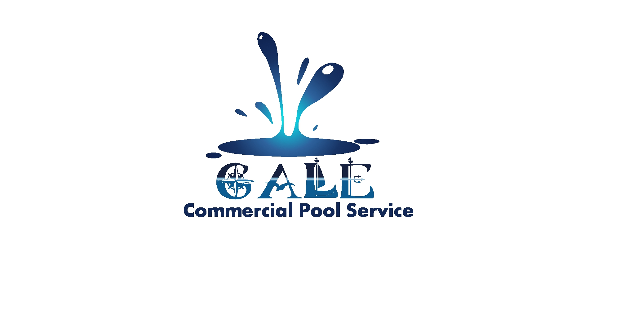 Logo Design by dallywopper - Entry No. 142 in the Logo Design Contest Imaginative Logo Design for Gale Pool Company.