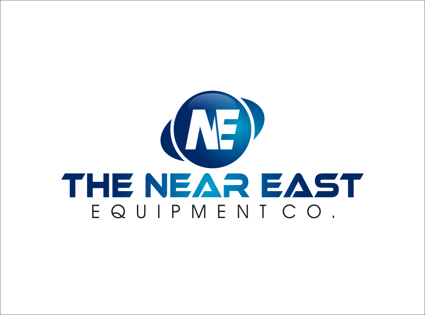 Logo Design by RasYa Muhammad Athaya - Entry No. 45 in the Logo Design Contest Imaginative Logo Design for The Near East Equipment Co..