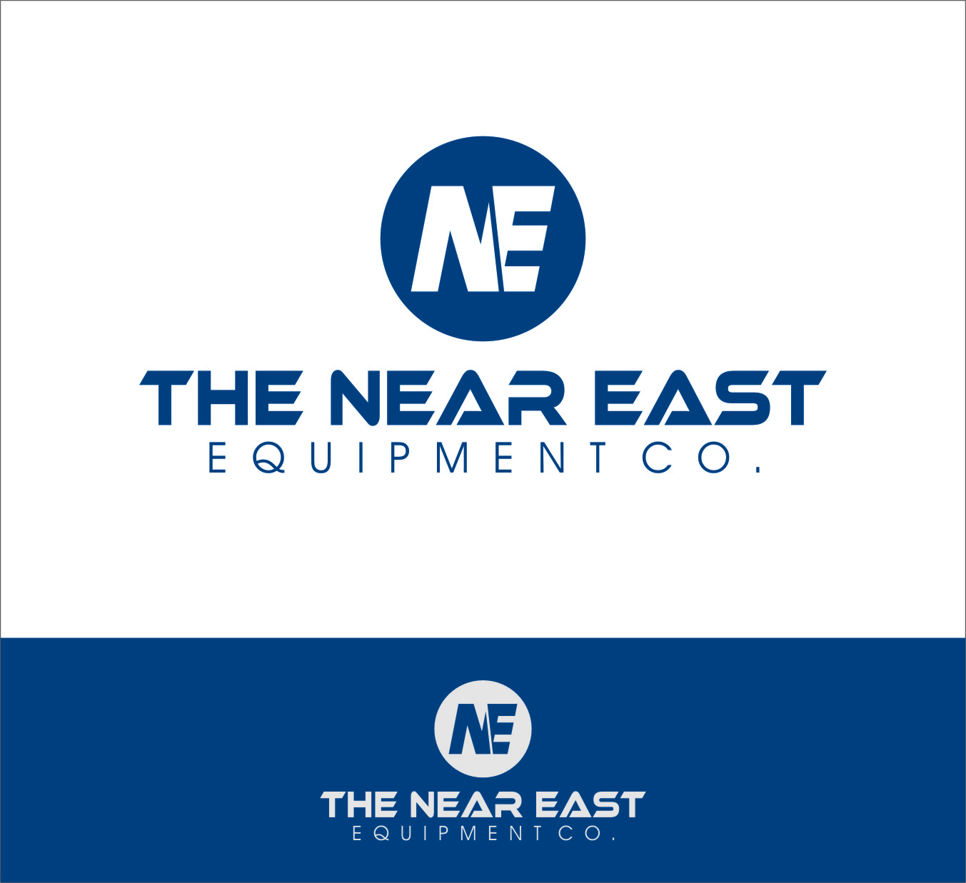 Logo Design by RasYa Muhammad Athaya - Entry No. 47 in the Logo Design Contest Imaginative Logo Design for The Near East Equipment Co..