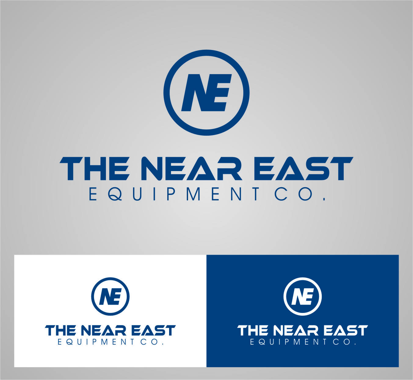 Logo Design by RasYa Muhammad Athaya - Entry No. 48 in the Logo Design Contest Imaginative Logo Design for The Near East Equipment Co..
