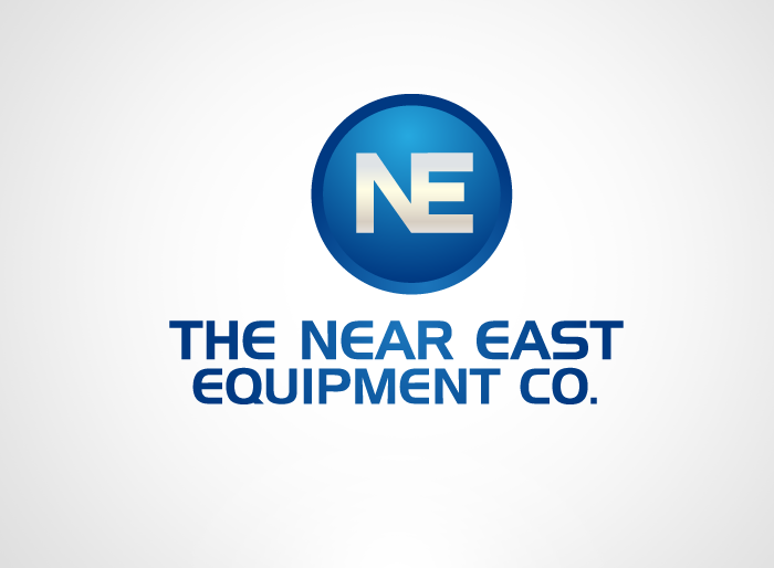 Logo Design by Jan Chua - Entry No. 51 in the Logo Design Contest Imaginative Logo Design for The Near East Equipment Co..