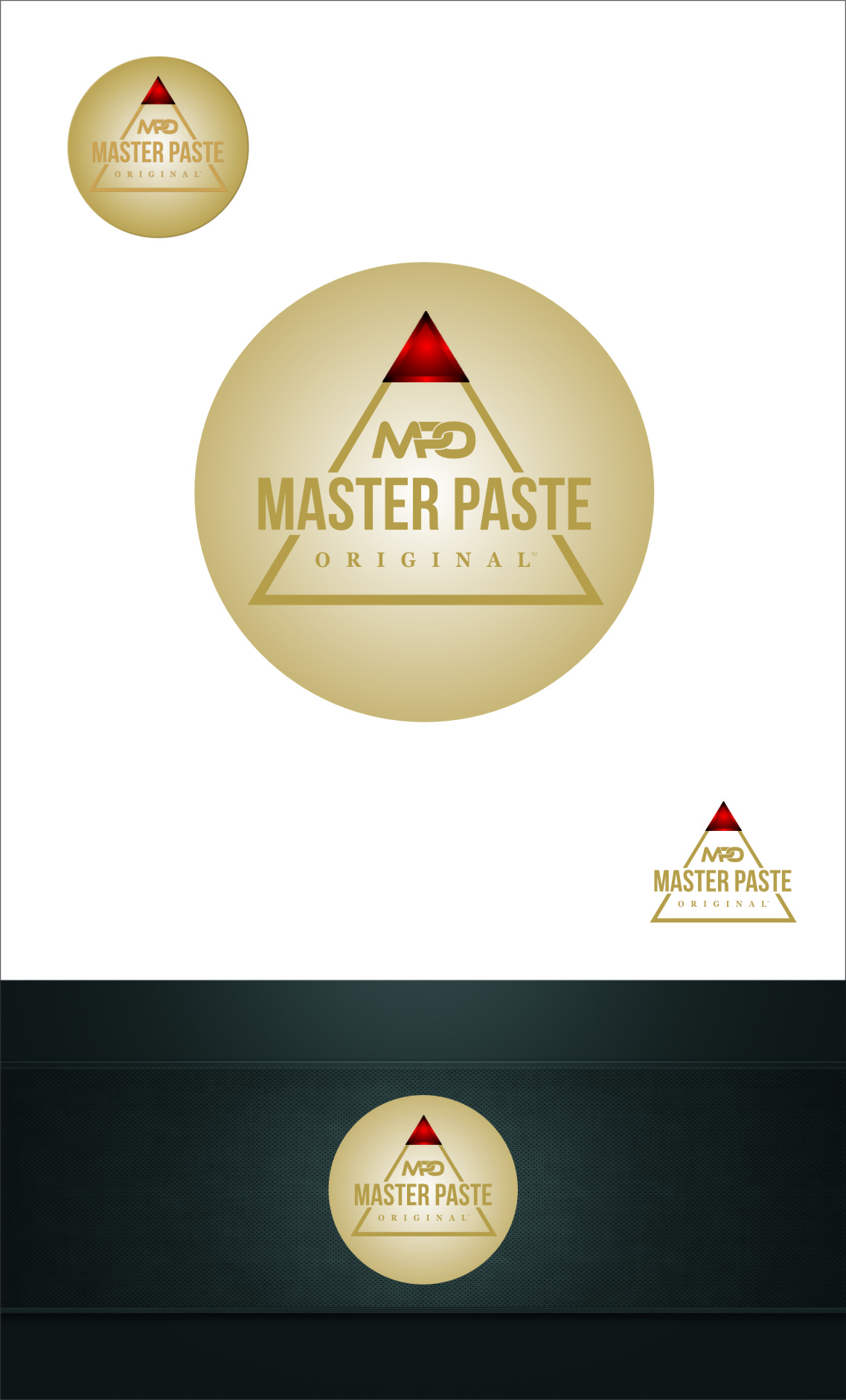 Logo Design by RasYa Muhammad Athaya - Entry No. 51 in the Logo Design Contest Unique Logo Design Wanted for Master Paste Original™.