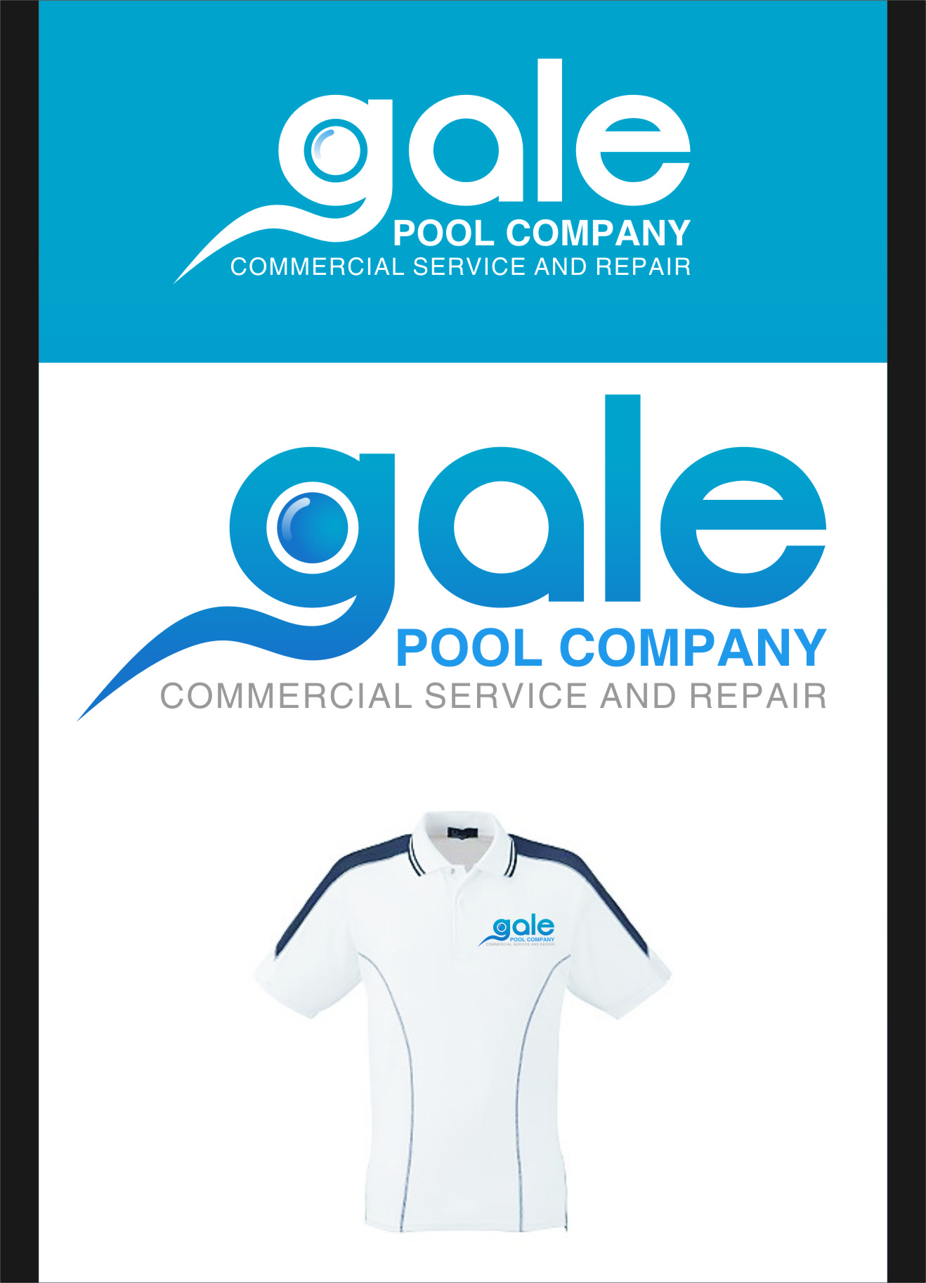 Logo Design by RasYa Muhammad Athaya - Entry No. 145 in the Logo Design Contest Imaginative Logo Design for Gale Pool Company.