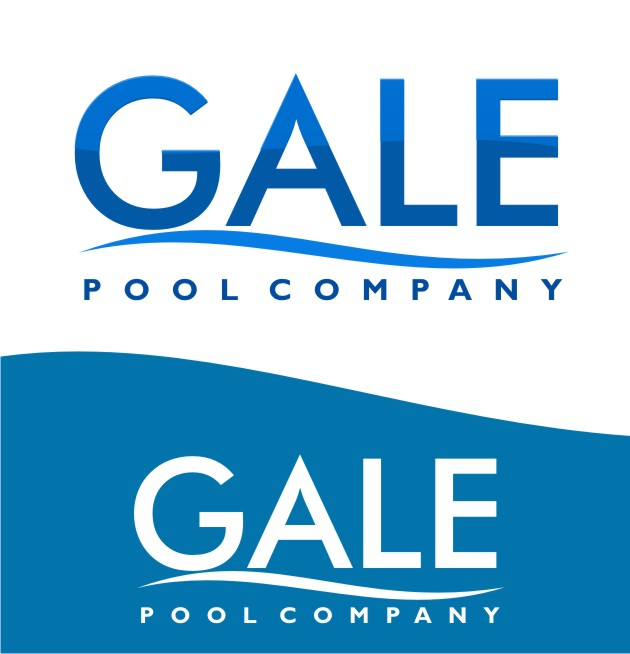 Logo Design by Arief Zuhud Romdhon - Entry No. 146 in the Logo Design Contest Imaginative Logo Design for Gale Pool Company.