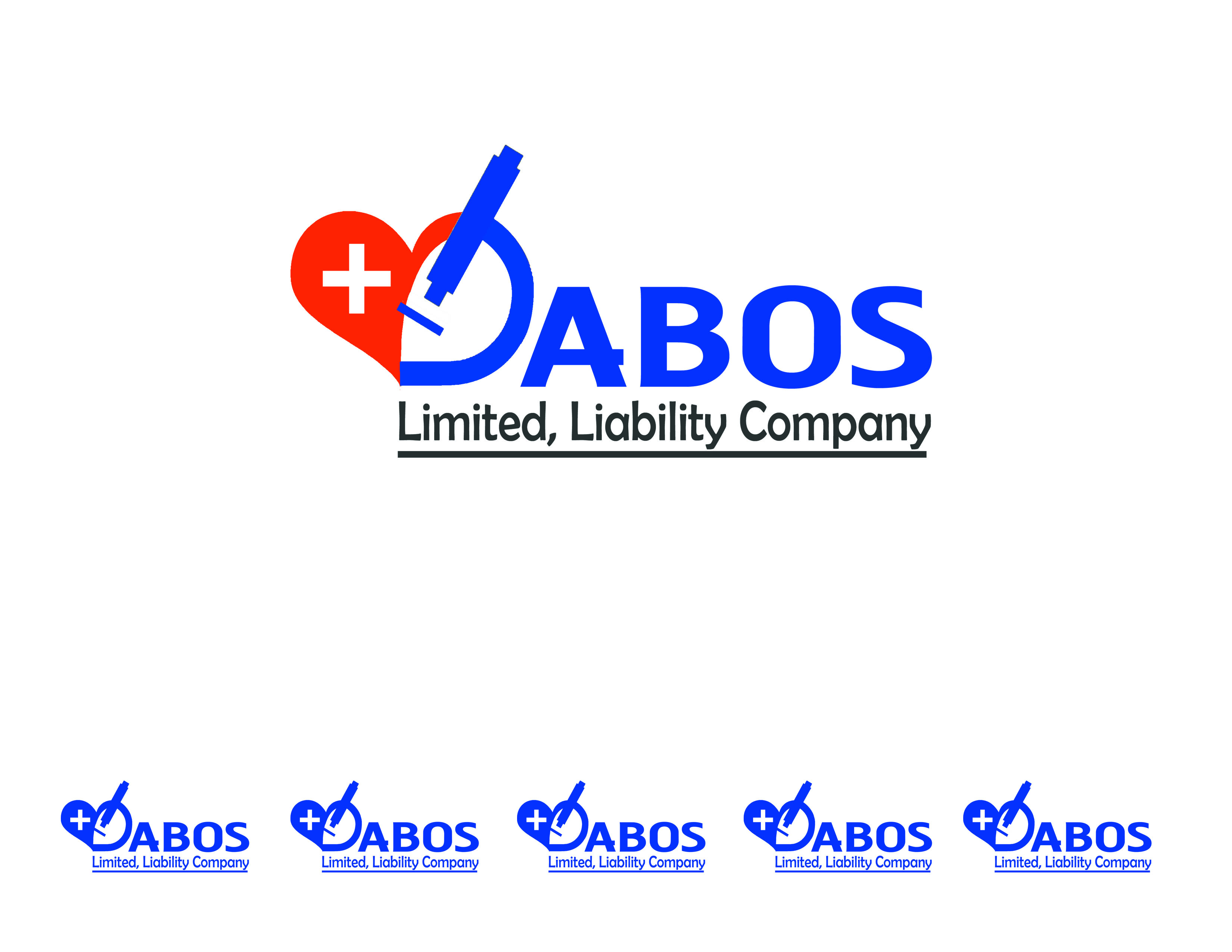Logo Design by Alan Esclamado - Entry No. 3 in the Logo Design Contest Imaginative Logo Design for DABOS, Limited Liability Company.