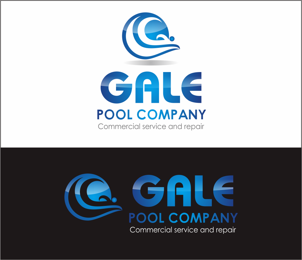 Logo Design by Armada Jamaluddin - Entry No. 147 in the Logo Design Contest Imaginative Logo Design for Gale Pool Company.