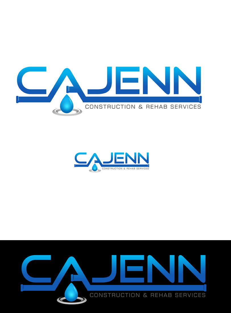Logo Design by Private User - Entry No. 44 in the Logo Design Contest New Logo Design for CaJenn Construction & Rehab Services.
