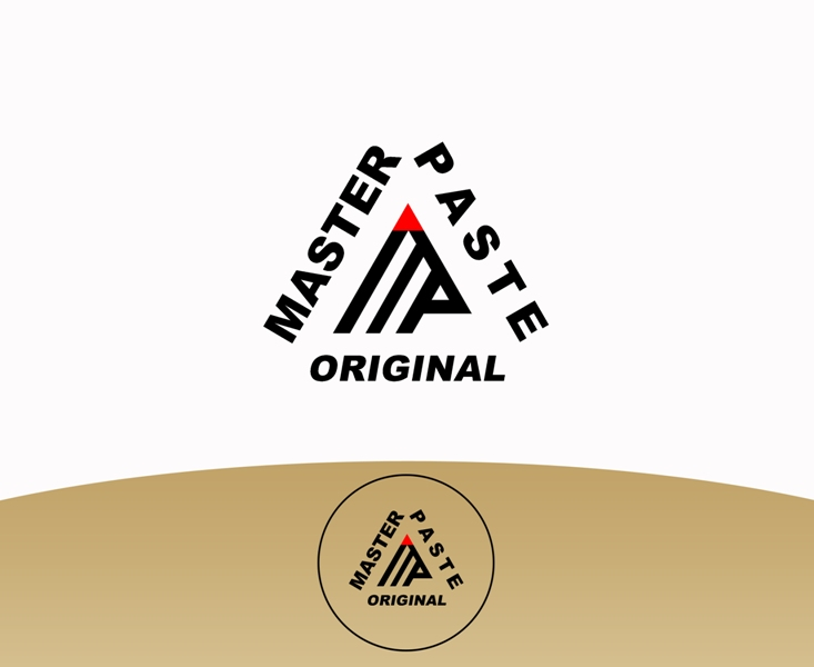 Logo Design by Juan_Kata - Entry No. 55 in the Logo Design Contest Unique Logo Design Wanted for Master Paste Original™.