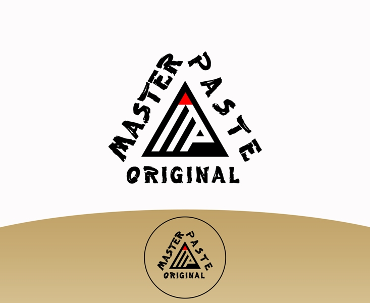 Logo Design by Juan_Kata - Entry No. 56 in the Logo Design Contest Unique Logo Design Wanted for Master Paste Original™.