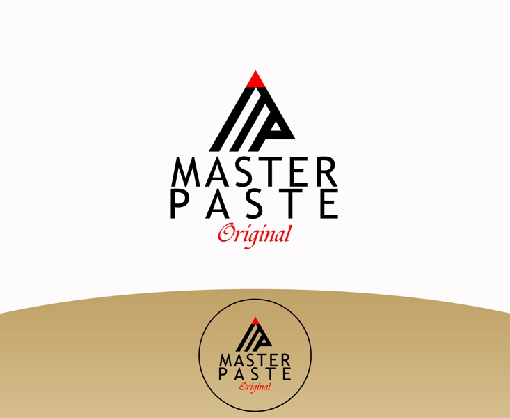 Logo Design by Juan_Kata - Entry No. 59 in the Logo Design Contest Unique Logo Design Wanted for Master Paste Original™.