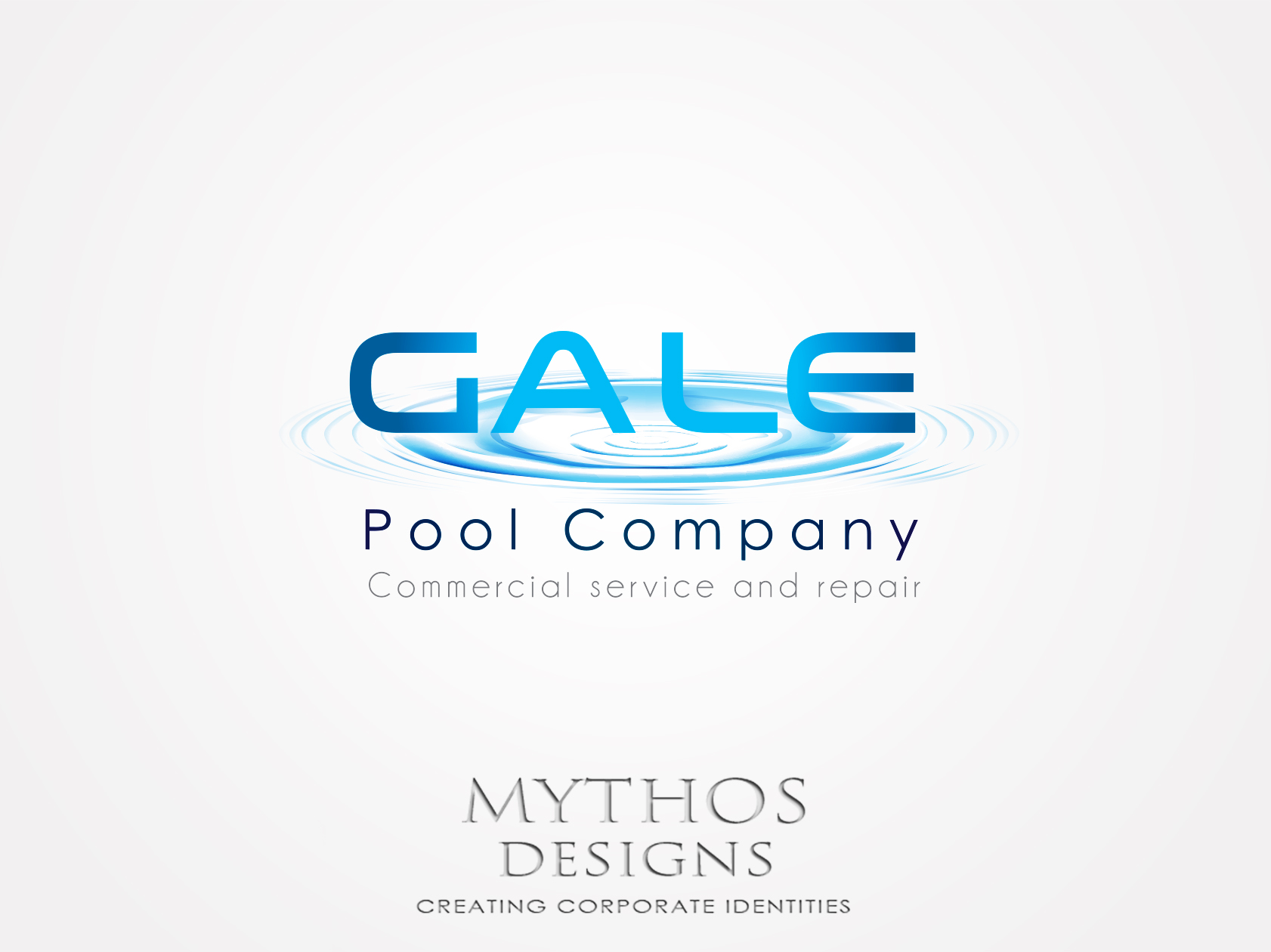 Logo Design by Mythos Designs - Entry No. 153 in the Logo Design Contest Imaginative Logo Design for Gale Pool Company.