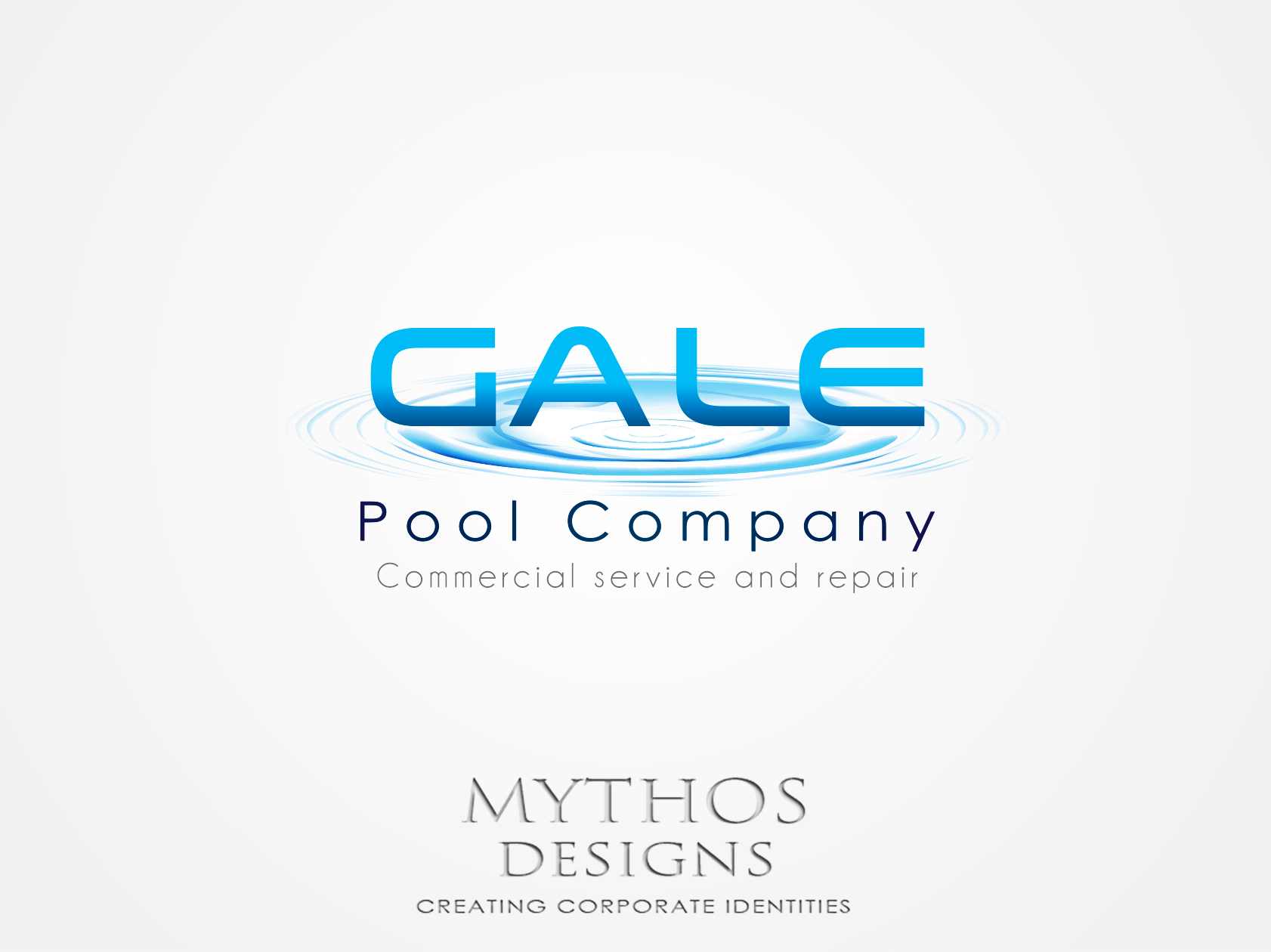 Logo Design by Mythos Designs - Entry No. 154 in the Logo Design Contest Imaginative Logo Design for Gale Pool Company.