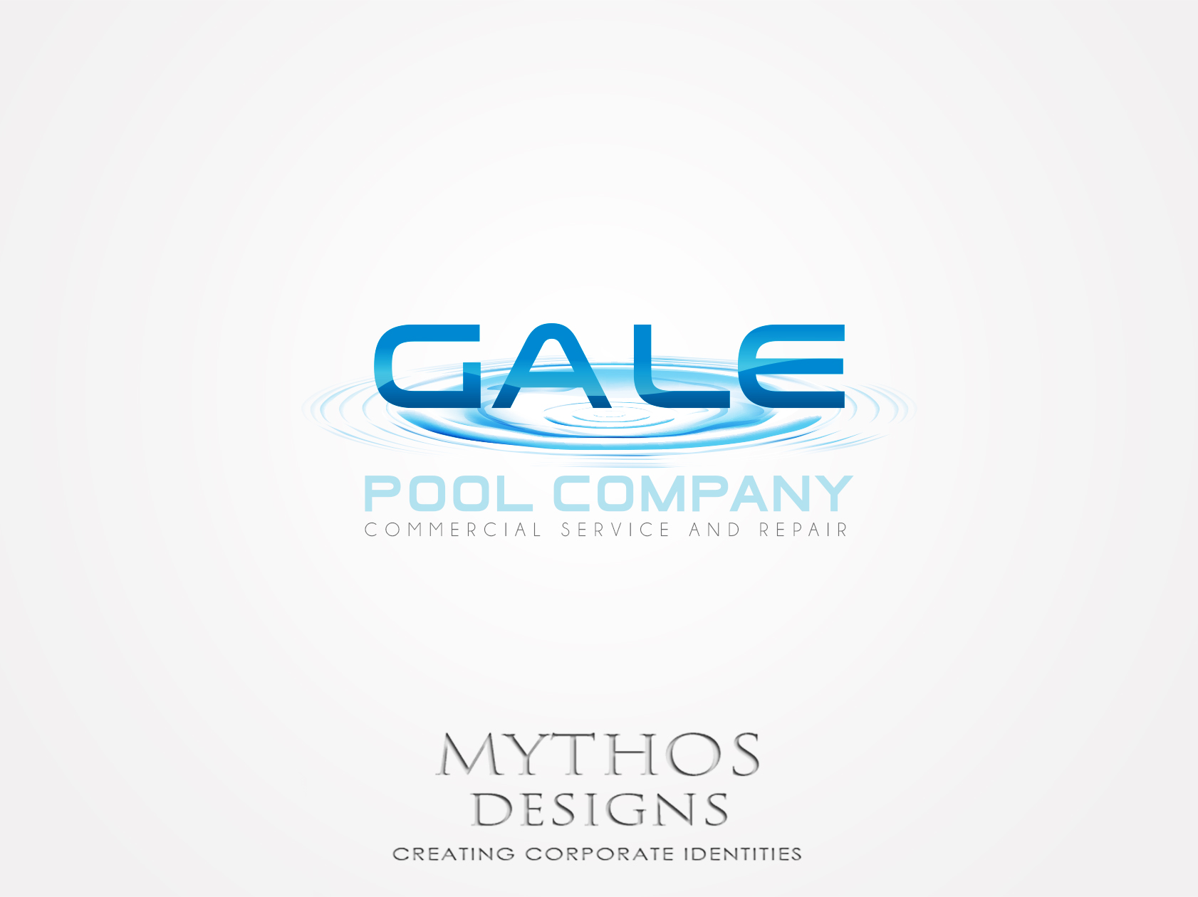 Logo Design by Mythos Designs - Entry No. 155 in the Logo Design Contest Imaginative Logo Design for Gale Pool Company.