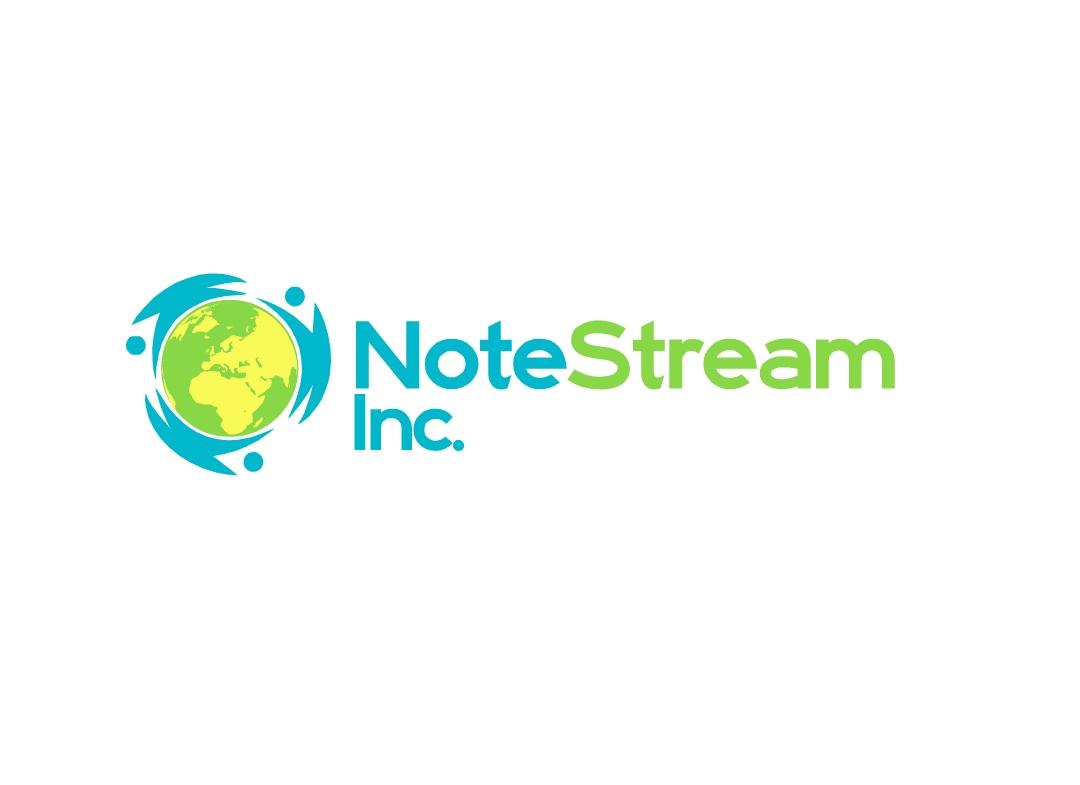 Logo Design by Marco Paulo Jamero - Entry No. 8 in the Logo Design Contest Imaginative Logo Design for NoteStream.