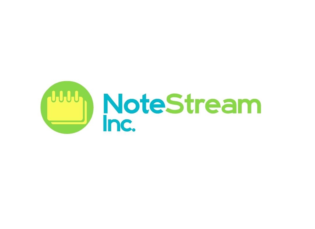 Logo Design by Marco Paulo Jamero - Entry No. 9 in the Logo Design Contest Imaginative Logo Design for NoteStream.