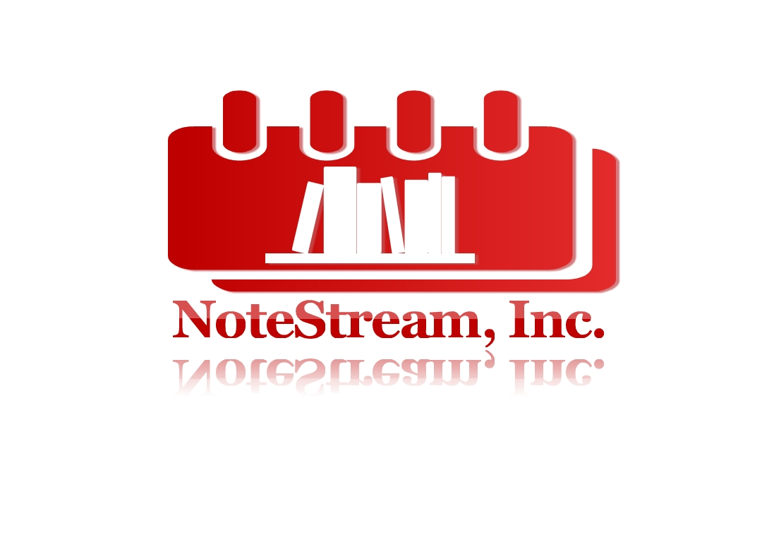 Logo Design by Marco Paulo Jamero - Entry No. 11 in the Logo Design Contest Imaginative Logo Design for NoteStream.