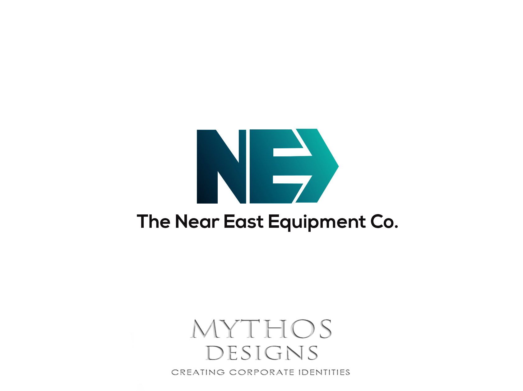 Logo Design by Mythos Designs - Entry No. 60 in the Logo Design Contest Imaginative Logo Design for The Near East Equipment Co..